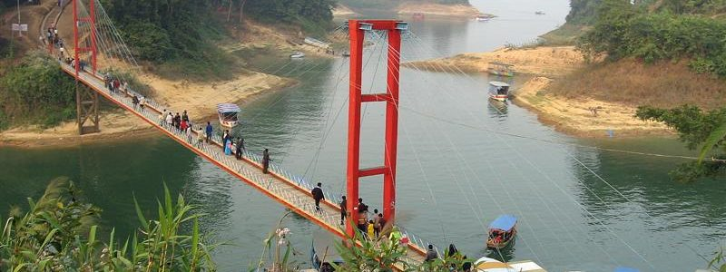 Suspension Bridge in Bangladesh